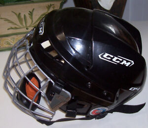 CCM Vector 04 Sm. Hockey Helmet + Easton Stealth S17 Cage London Ontario image 3