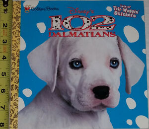 102 Dalmatian Book Soft Cover & 5 Toys