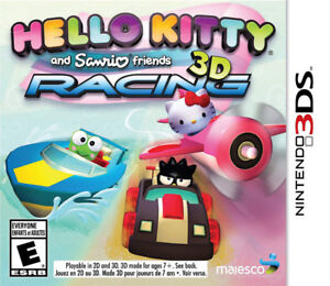 3DS , Hello kitty racing