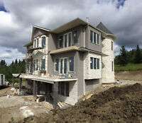 Beautiful Exterior for your House / Acrylic Stucco and Stone !