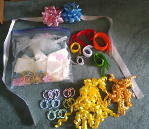 Assorted Ribbons/baby decoration