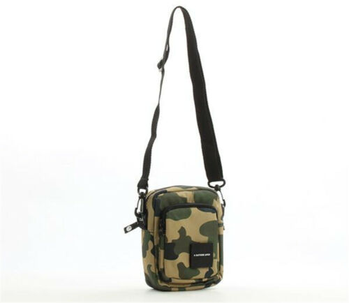 BAPE A Bathing Ape Camo Messenger Bag Crossbody Sling Bag Tr