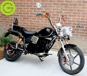 Green Choice Moto 72V Chopper