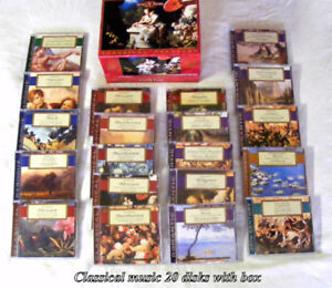 Vintage, rare. Classical Music Collection, Intersound, 20 disks