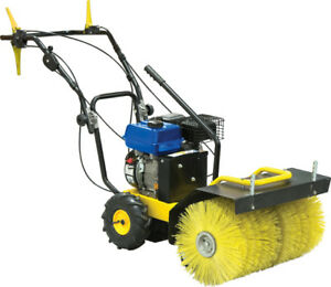 24 inch Power Sweeper  - new condition
