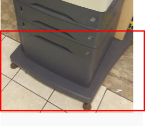 Need stand and bottom cabinet for HP4345 printer