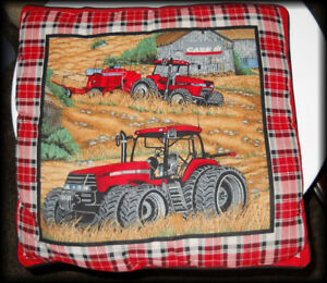 Man Cave - Tractor Couch Pillow ( one ) International Harvester