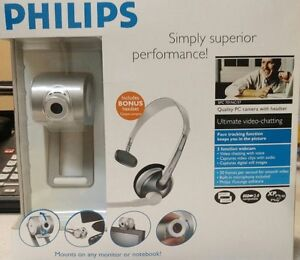 Philips camera and headset for PC