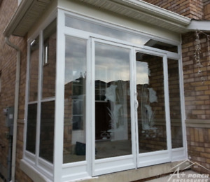 Alluminium Porch Glass Enclosure Main / side entrance storm door