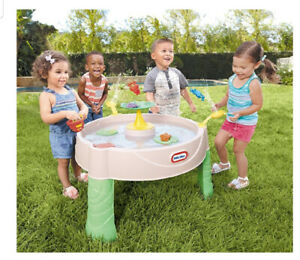 Brand  new  little tikes  frog water  table