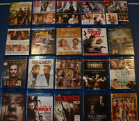 22 BluRays and 120+ DVDs