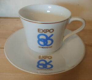 Expo 86 Cup and Saucer
