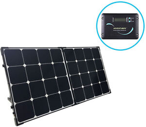 Renogy 100W 12V Eclipse Solar Suitcase (w/ Charge Controller)