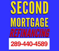 REFINANCE AND 2ND MORTGAGE AVAILABLE
