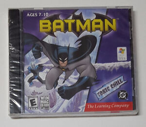 Batman - Toxic Chill - PC game - Rated E - New and Unopened