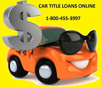 Borrow up to $25,000 on your Vehicle & keep driving it TODAY