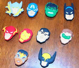 Croc shoe charms - Superheroes and My Little Pony West Island Greater Montréal image 7