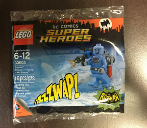 Rare minifigurine Lego - Classic Batman Mr. Freeze