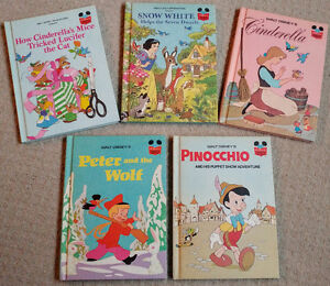 Disney's Wonderful World of Reading - Five Collector Books