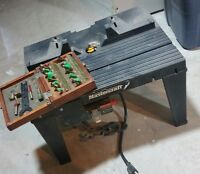 router table and bits 60.00