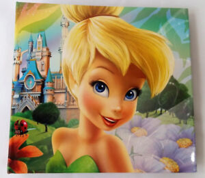 Disney Tinkerbell 168 Photo and 2 CD Album