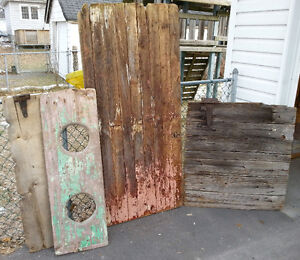 ANTIQUE 100 YEAR OLD COUNTRY DECOR DOOR BARN wood LOT