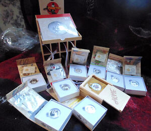 Looney Tunes Complete Set 10 coins of solid 999.9 proof silver London Ontario image 5