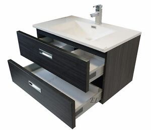 Vanité moderne et son ensemble / Modern vanity in kit