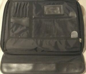 "17"" Dell LAPTOP Black Computer Briefcase Travel Business Bag"