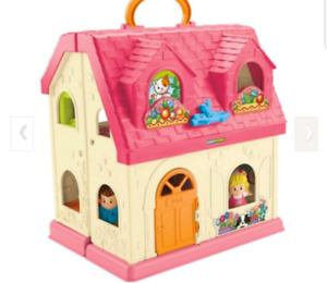 Baby toy doll SURPRISE & SOUNDS HOME, Fisher Price