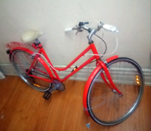 "Reid Cycles - Vintage Ladies Petite Bicycle 24"" Red"