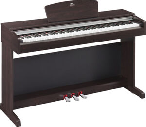 Yamaha Arius digital piano with bench for sale. Like new!
