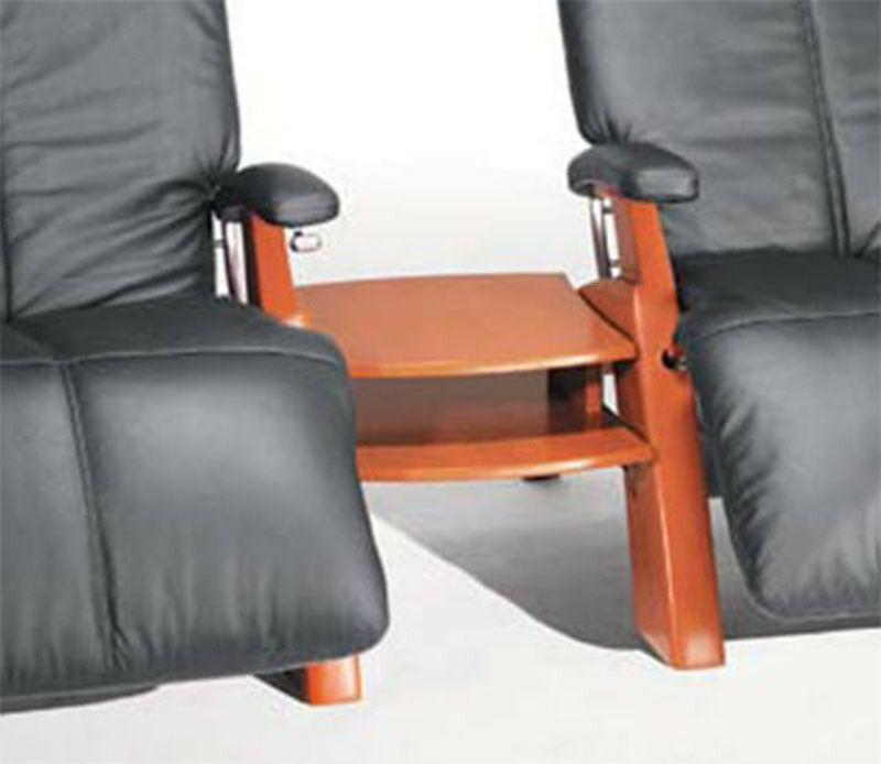 THE NEW PERFECT CHAIR RECLINER MAPLE WEDGE WOOD SPANNER TABL