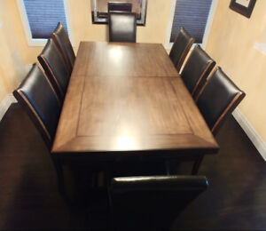 9pc Dining Table