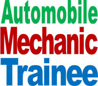 Auto Mechanic Trainee – A career with a future!