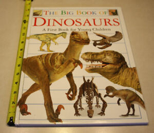 "The Big Book Of Dinosaurs 14"" x 11"""