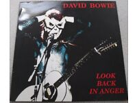 THREE DAVID BOWIE LP's. ALL RARE AND IN VG++ CONDITION. LOT 3