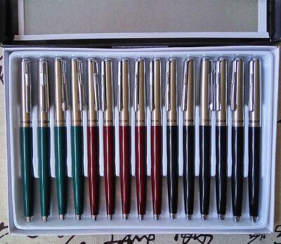 15PCS Hero 007 Fountain Pen China's classical pen Rich gold nib Students pen
