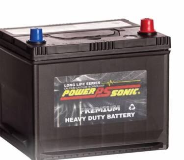 NEW Small CAR BATTERY PowerSonic PNS40ZLS Mnt Free 330CCA 42B19LS