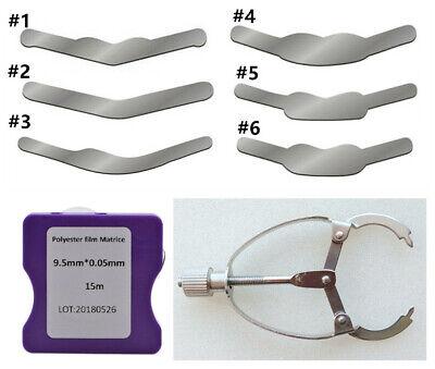 Dental Matrix Bands Tofflemire Stuck Universal Stainless Steel Wedges Plier