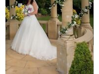 Wedding dress (professionally cleaned)