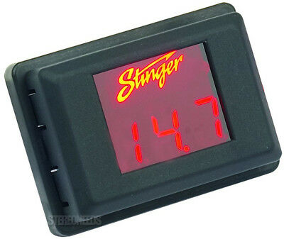 NEW STINGER SVMR VOLTMETER 3-DIGIT RED LED VOLTAGE DISPLAY GAUGE VOLTAGE METER