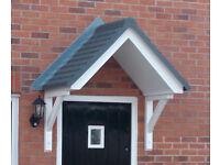 Maintenance free door canopy