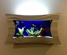 Wall Mounted Fish Tank Lakelands Mandurah Area Preview
