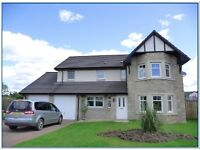 Five bed (with en-suite), 3 reception family home, corner plot, large gardens, double garage, Crieff