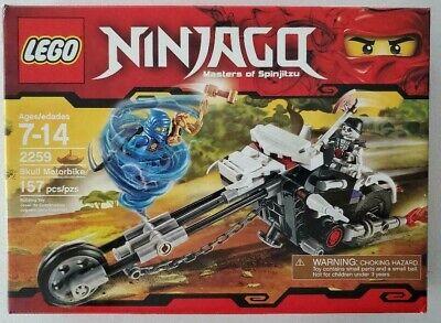 LEGO SET # 2259 NINJAGO MASTERS OF SPINJITZU SKULL MOTORBIKE 100% COMPLETE