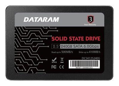 "DATARAM 240GB 2.5"" SSD DRIVE FOR MSI Z270 GAMING M6 AC"
