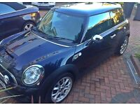 STUNNING ASTRO BLACK MINI COOPER S 1.6 CHILLI PACK 1 OWNER FROM NEW FULL SERVICE HISTORY 39K MILEAGE