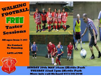 New Walking football group, Kettle United - open to all! FREE