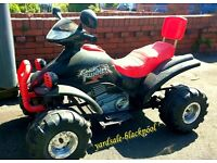 Quad Bike ~ Battery Powered ~ Not Fast ~ Kids